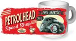 Koolart PERTOLHEAD SPEED SHOP Design For Chrysler PT Cruiser Ceramic Tea Or Coffee Mug